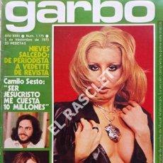Coleccionismo de Revista Garbo: ANTIGÜA REVISTA GARBO Nº 1175 - AÑO 1975. Lote 211692866
