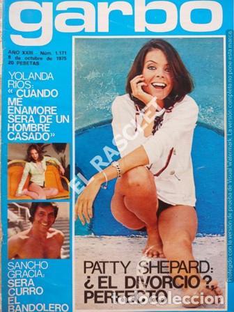 ANTIGÜA REVISTA GARBO Nº 1171 - AÑO 1975 (Coleccionismo - Revistas y Periódicos Modernos (a partir de 1.940) - Revista Garbo)