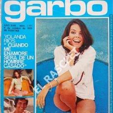 Coleccionismo de Revista Garbo: ANTIGÜA REVISTA GARBO Nº 1171 - AÑO 1975. Lote 211692939