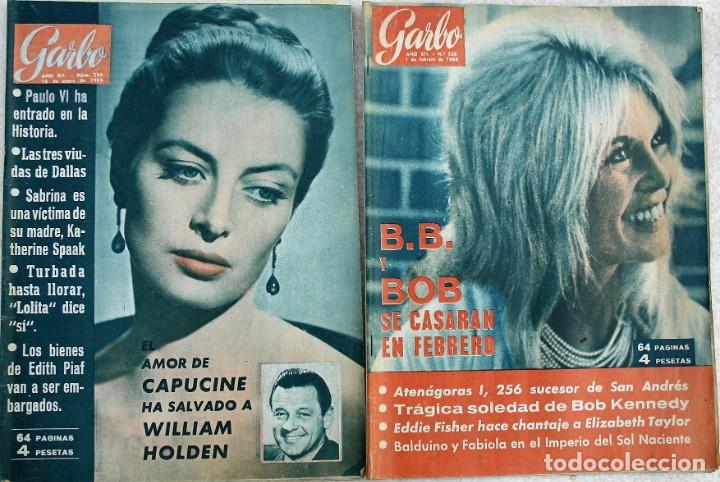 Coleccionismo de Revista Garbo: REVISTAS GARBO 1964 - Foto 1 - 212472530