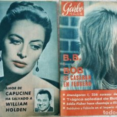 Coleccionismo de Revista Garbo: REVISTAS GARBO 1964. Lote 212472530