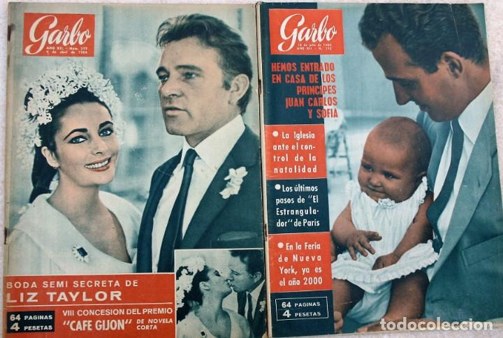 Coleccionismo de Revista Garbo: REVISTAS GARBO 1964 - Foto 2 - 212472530