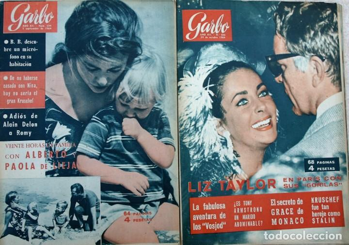 Coleccionismo de Revista Garbo: REVISTAS GARBO 1964 - Foto 3 - 212472530