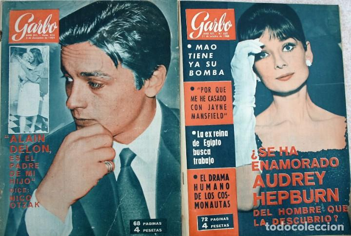 Coleccionismo de Revista Garbo: REVISTAS GARBO 1964 - Foto 4 - 212472530