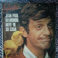 Coleccionismo de Revista Garbo: GARBO 2 DE ABRIL 1966 NÚMERO 682 JEAN PAUL BELMONDO HUYE DE SU CASA. Lote 213177738