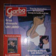 Coleccionismo de Revista Garbo: GARBO NUM 1637, 3 SEPTIEMBRE 84. LUIS ALFONSO. Lote 213347481