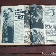 Coleccionismo de Revista Garbo: GARBO / ROCIO DURCAL, EDDY MERCKX, ANGEL NIETO, HOMBRE, BRIGITTE BARDOT, JOHN MOULDER BROWN. Lote 213825278