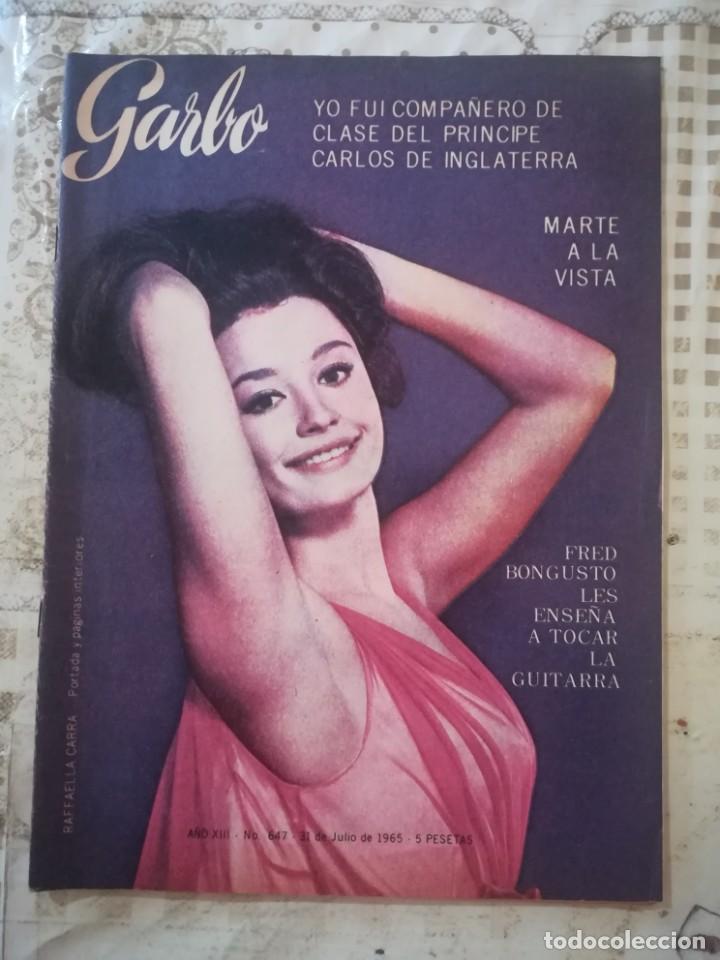 GARBO Nº 647 - RAFFAELLA CARRÁ (Coleccionismo - Revistas y Periódicos Modernos (a partir de 1.940) - Revista Garbo)