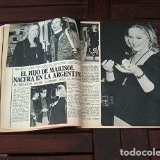 Colecionismo da Revista Garbo: GARBO / MARISOL & GADES, CAMILO SESTO, LUCIA BOSE, MASSIEL, PILAR VELAZQUEZ, SOPHIA LOREN. Lote 215835448