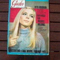 Collectionnisme de Magazine Garbo: REVISTA GARBO / FRANCE GALL / 1968. Lote 216363025
