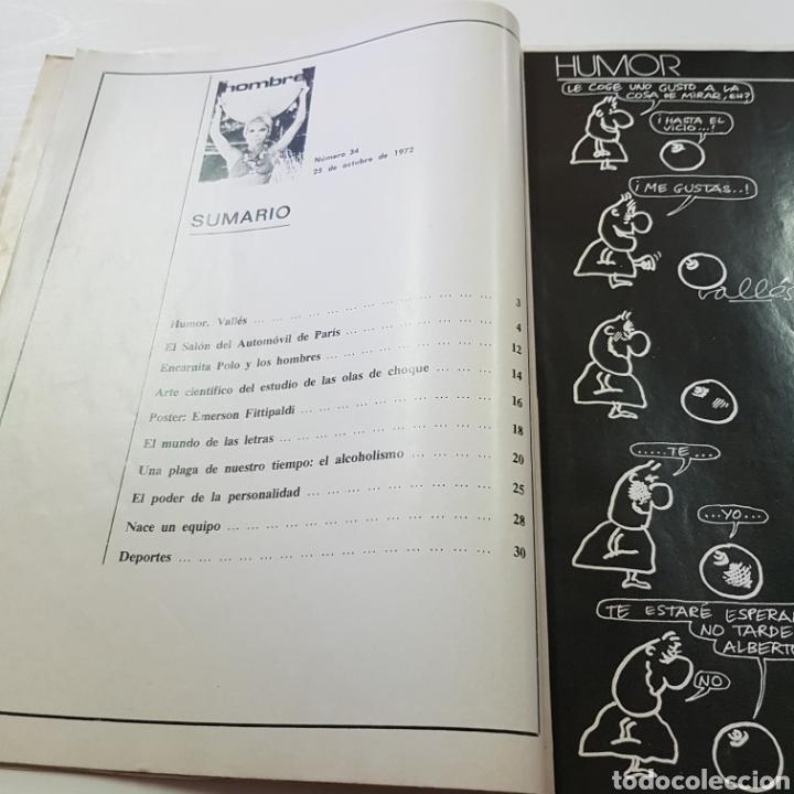 Coleccionismo de Revista Garbo: GARBO N° 1017 NOVIEMBRE 1972 JUAN PARDO - ROSARIO FLORES - SALON DEL AUTOMOVIL ... - Foto 4 - 217935190