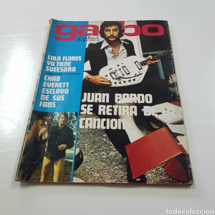 Coleccionismo de Revista Garbo: GARBO N° 1017 NOVIEMBRE 1972 JUAN PARDO - ROSARIO FLORES - SALON DEL AUTOMOVIL ... - Foto 6 - 217935190