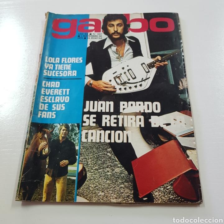 GARBO N° 1017 NOVIEMBRE 1972 JUAN PARDO - ROSARIO FLORES - SALON DEL AUTOMOVIL ... (Coleccionismo - Revistas y Periódicos Modernos (a partir de 1.940) - Revista Garbo)