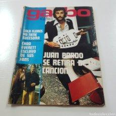 Coleccionismo de Revista Garbo: GARBO N° 1017 NOVIEMBRE 1972 JUAN PARDO - ROSARIO FLORES - SALON DEL AUTOMOVIL .... Lote 217935190