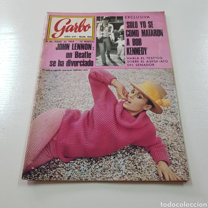 Coleccionismo de Revista Garbo: GARBO N° 800 JULIO 1968 JOHN LENNON BEATLES - BOB KENNEDY ... - Foto 6 - 217973338