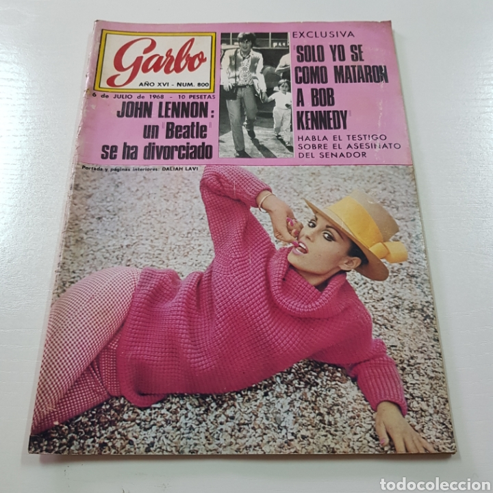 GARBO N° 800 JULIO 1968 JOHN LENNON BEATLES - BOB KENNEDY ... (Coleccionismo - Revistas y Periódicos Modernos (a partir de 1.940) - Revista Garbo)