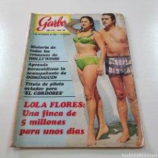Collectionnisme de Magazine Garbo: GARBO N° 861 SEPTIEMBRE 1969 LOLA FLORES EL CORDOBÉS DOMINGUIN SEAT 850 SPORT. Lote 217976136