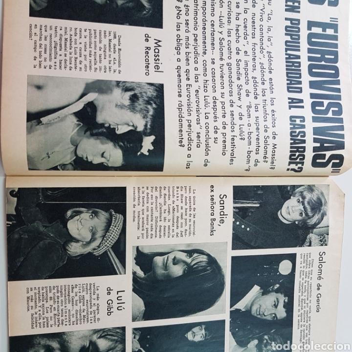 Coleccionismo de Revista Garbo: GARBO N° 882 ENERO 1970 EUROVISION MASSIEL OMAR SHARIFF JOSE BODALO MARISA MELL ... - Foto 3 - 217977082