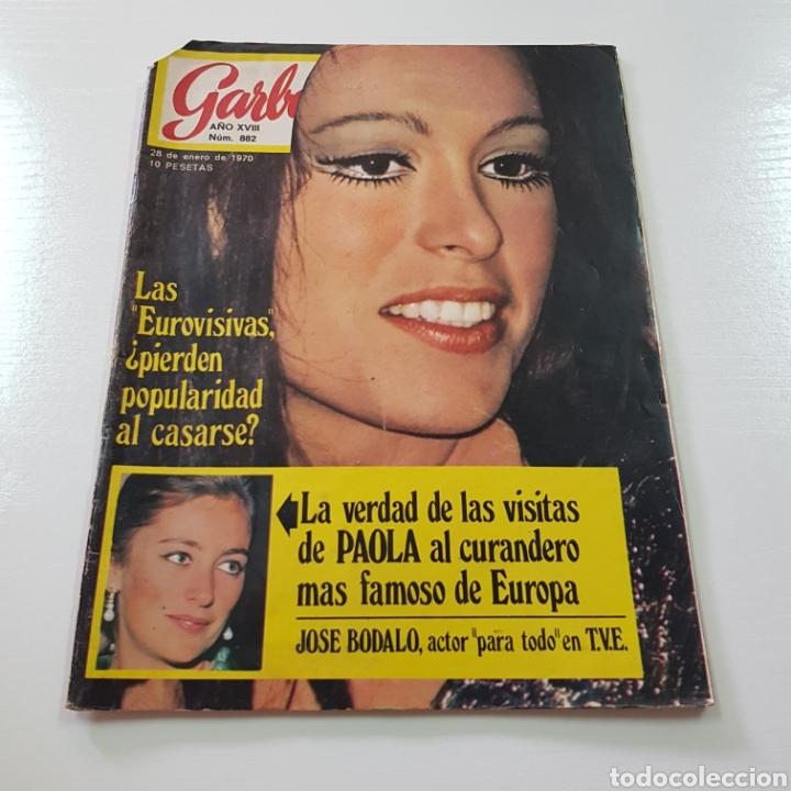 Coleccionismo de Revista Garbo: GARBO N° 882 ENERO 1970 EUROVISION MASSIEL OMAR SHARIFF JOSE BODALO MARISA MELL ... - Foto 6 - 217977082