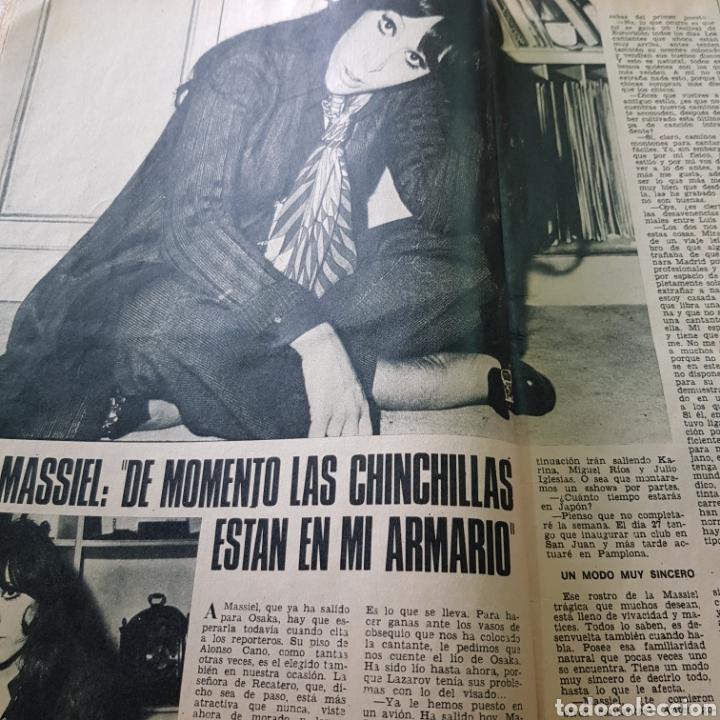 Coleccionismo de Revista Garbo: GARBO N° 904 JULIO 1970 ROCIO DURCAL Y JUNIOR MASSIEL ANDRES PAJARES ... - Foto 3 - 217977910