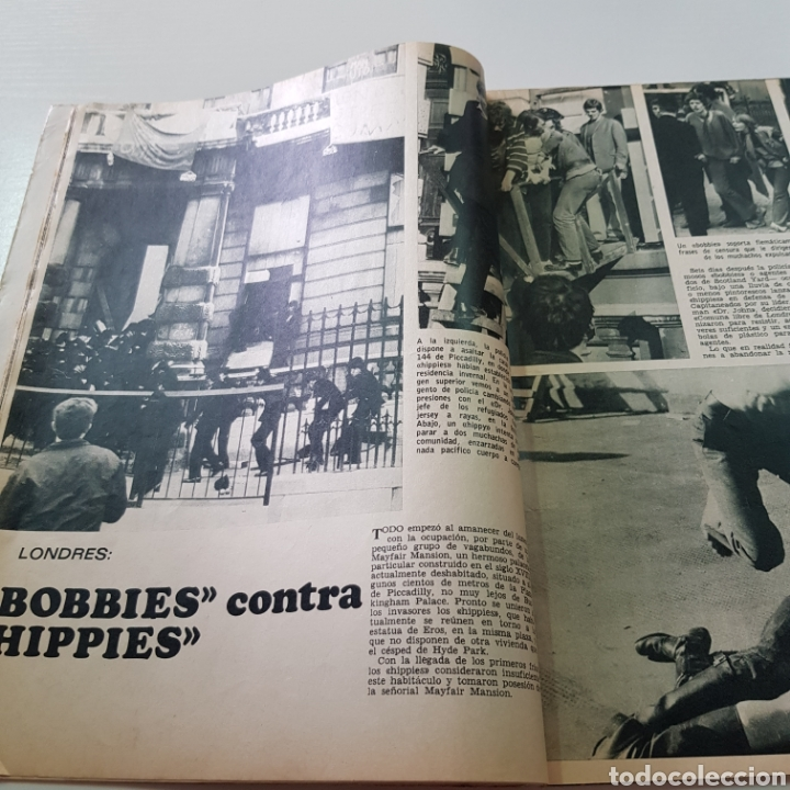 Coleccionismo de Revista Garbo: GARBO N° 865 OCTUBRE 1969 TED KENNEDY ANTONIO GADES OMAR SHARIFF - Foto 3 - 217980962