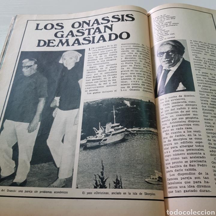 Coleccionismo de Revista Garbo: GARBO N° 865 OCTUBRE 1969 TED KENNEDY ANTONIO GADES OMAR SHARIFF - Foto 4 - 217980962