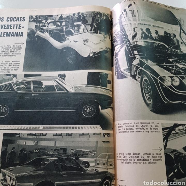 Coleccionismo de Revista Garbo: GARBO N° 865 OCTUBRE 1969 TED KENNEDY ANTONIO GADES OMAR SHARIFF - Foto 5 - 217980962