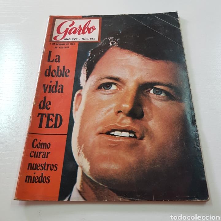 Coleccionismo de Revista Garbo: GARBO N° 865 OCTUBRE 1969 TED KENNEDY ANTONIO GADES OMAR SHARIFF - Foto 7 - 217980962