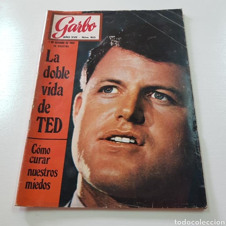 GARBO N° 865 OCTUBRE 1969 TED KENNEDY ANTONIO GADES OMAR SHARIFF (Coleccionismo - Revistas y Periódicos Modernos (a partir de 1.940) - Revista Garbo)