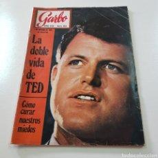 Coleccionismo de Revista Garbo: GARBO N° 865 OCTUBRE 1969 TED KENNEDY ANTONIO GADES OMAR SHARIFF. Lote 217980962