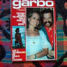 Coleccionismo de Revista Garbo: GARBO / CARMEN SEVILLA, VERONICA LLIMERA, DALILA DI LAZARO, MASSIEL, ROCIO JURADO, MONACO. Lote 218026298
