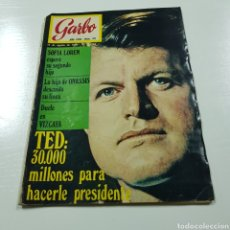 Coleccionismo de Revista Garbo: GARBO N° 911 SOFIA LOREN - ONASSIS - TED KENNEDY. Lote 218041065