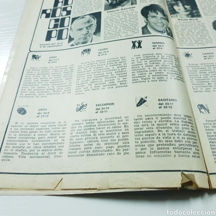 Coleccionismo de Revista Garbo: GARBO N° 957 SEPTIEMBRE 1971 MARISOL LUCIA BOSE ANTONIO GADES - Foto 3 - 218041547