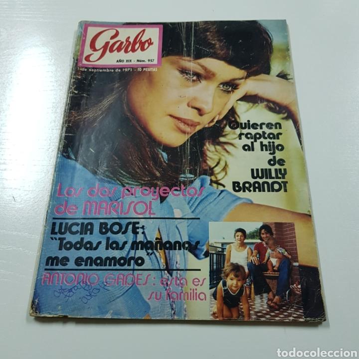 Coleccionismo de Revista Garbo: GARBO N° 957 SEPTIEMBRE 1971 MARISOL LUCIA BOSE ANTONIO GADES - Foto 6 - 218041547