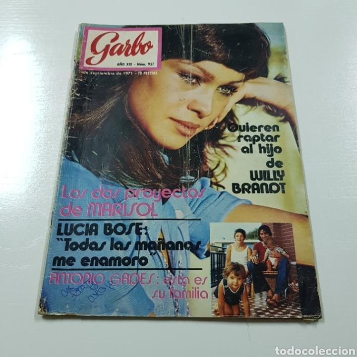 GARBO N° 957 SEPTIEMBRE 1971 MARISOL LUCIA BOSE ANTONIO GADES (Coleccionismo - Revistas y Periódicos Modernos (a partir de 1.940) - Revista Garbo)