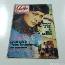 Coleccionismo de Revista Garbo: GARBO N° 957 SEPTIEMBRE 1971 MARISOL LUCIA BOSE ANTONIO GADES. Lote 218041547