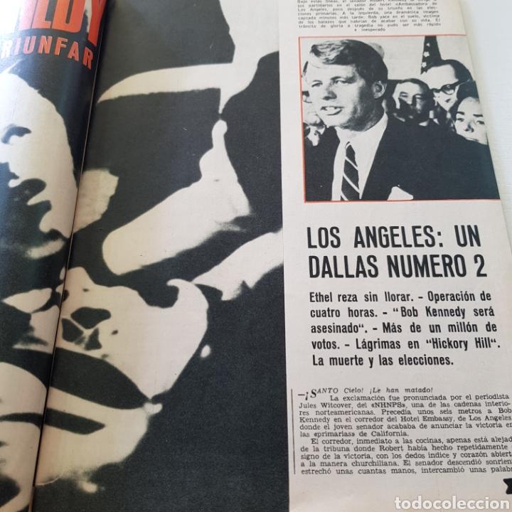 Coleccionismo de Revista Garbo: GARBO N° 797 ROBERT KENNEDY - LAS MUJERS DE LOS KENNEDY - Foto 3 - 218096370