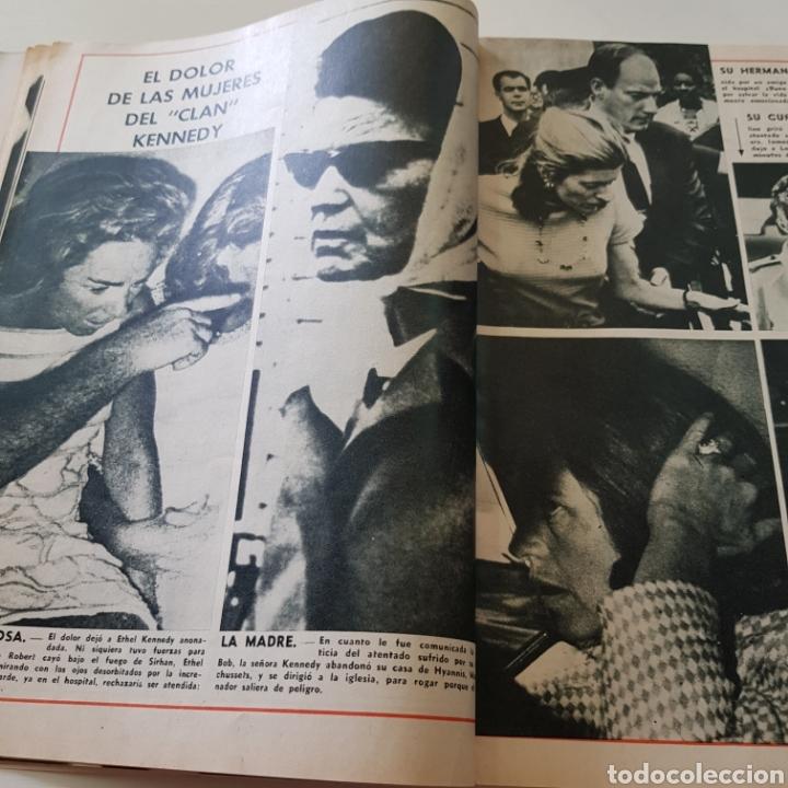 Coleccionismo de Revista Garbo: GARBO N° 797 ROBERT KENNEDY - LAS MUJERS DE LOS KENNEDY - Foto 4 - 218096370