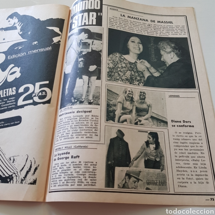 Coleccionismo de Revista Garbo: GARBO N° 797 ROBERT KENNEDY - LAS MUJERS DE LOS KENNEDY - Foto 5 - 218096370