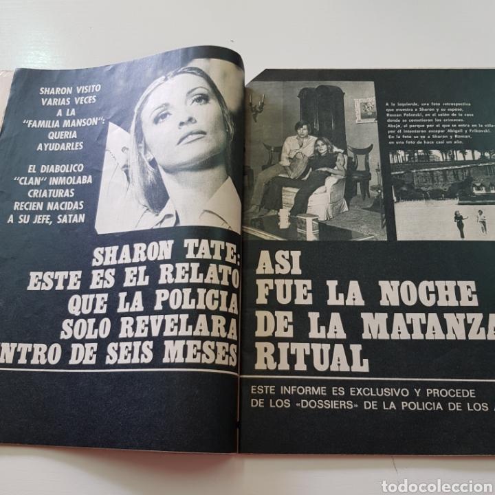 Coleccionismo de Revista Garbo: GARBO N° 887 DICIEMBRE 1969 CHARLES MANSON SHARON TATE ROCIO DURCAL JUNIOR JOHN LENON YOKO ONO - Foto 3 - 218099052