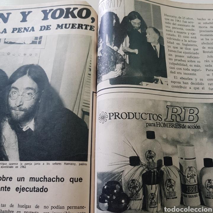 Coleccionismo de Revista Garbo: GARBO N° 887 DICIEMBRE 1969 CHARLES MANSON SHARON TATE ROCIO DURCAL JUNIOR JOHN LENON YOKO ONO - Foto 7 - 218099052