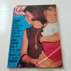 Coleccionismo de Revista Garbo: GARBO N° 887 DICIEMBRE 1969 CHARLES MANSON SHARON TATE ROCIO DURCAL JUNIOR JOHN LENON YOKO ONO. Lote 218099052