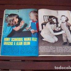 Coleccionismo de Revista Garbo: GARBO / ROMY SCHNEIDER, ALAIN DELON, RITA PAVONE, TEDDY RENO, MICHELE MORGAN, JANE ASHER. Lote 219411442