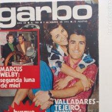 Coleccionismo de Revista Garbo: GARBO NUM 984 9 MARZO 1972. VALLADARES. Lote 220565258