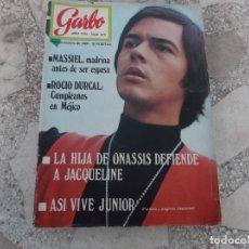 Coleccionismo de Revista Garbo: GARBO Nº 872, MASSIEL, ROCIO DURCAL , JUNIOR, LOS 8 CONEXION,. Lote 221106586
