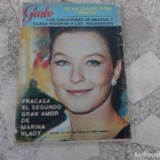 Coleccionismo de Revista Garbo: GARBO Nº 674, SE CASA GEORGE HARRISON, MONTSERRAT CABALLE,HERVE VILARD, CONSTANTINO DE GRECIA. Lote 221107975