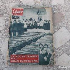 Coleccionismo de Revista Garbo: GARBO Nº 499, LA NOCHE TRAGICA DE LA GRAN BARCELONA,LAS INUNDACIONES, LIZ TAYLOR. Lote 221108611