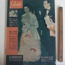 Coleccionismo de Revista Garbo: REVISTA GARBO Nº 372. 1960. ALEJANDRA DE KENT, NIKITA KRUSCHEF, DRAMA PEUGEOT, JUAN XXIII, SHA. Lote 221986145