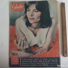 Coleccionismo de Revista Garbo: REVISTA GARBO Nº 392. 1960. FRANÇOISE BRION - CALLAS ONASISS - SOFIA LOREN - EL GOS D'ATURA, SHA. Lote 221986393