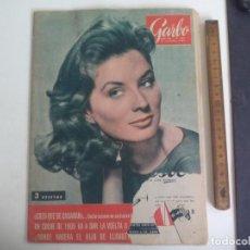 Coleccionismo de Revista Garbo: REVISTA GARBO Nº 341. 1959.LA REMORA, ANNA KASFHI, PREPARACION LLEGADA A LA LUNA. Lote 221986628